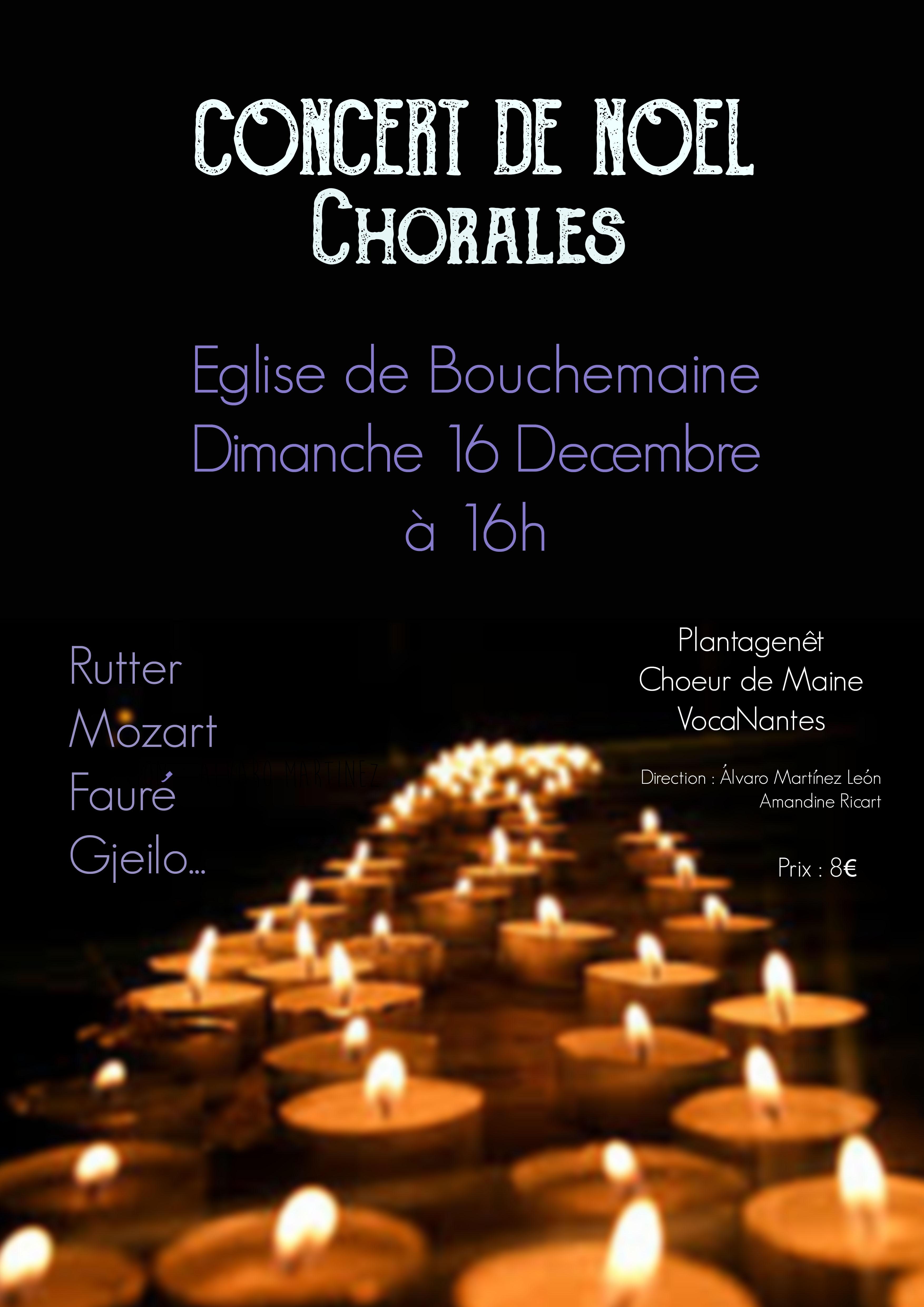 Affiche concert Bouchemaine 2018-12-16